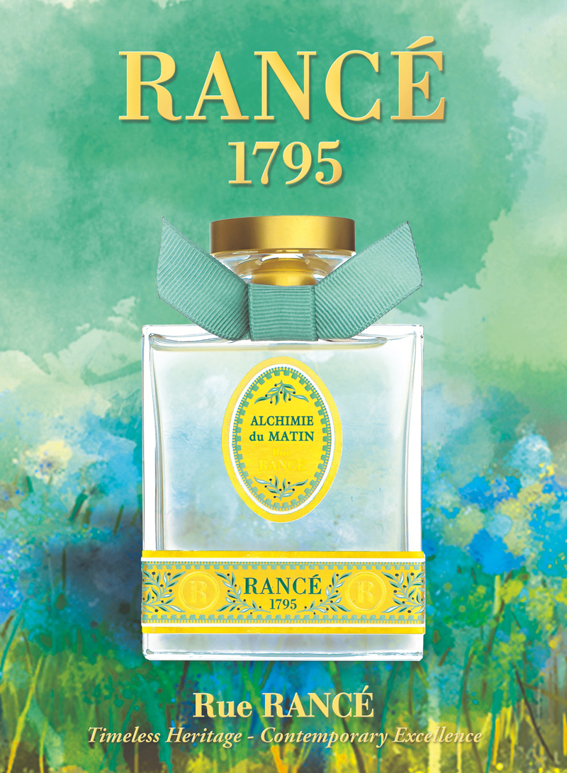 伝統の香水メゾン「ランセ」のオードトワレシリーズ「リューランセ」の誕生ストーリー